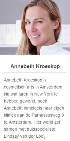 Annebethkroeskop - Botox Amsterdam